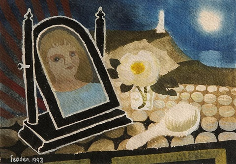 reflection recto verso by mary fedden