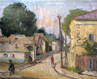 on the village street by paul verona