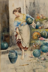 the melon seller by edwardo scognamiglio