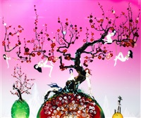 japanese apricot 3 - a pink dream by chiho aoshima