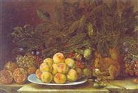 natura morta di frutti by agostino verrocchi