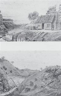 spring creek, hepburn, victoria, australia by john allison