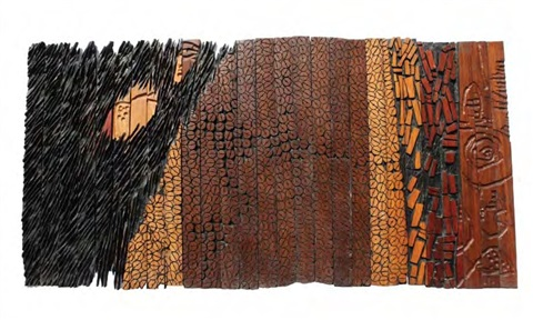 grandmas cloth series vi by el anatsui