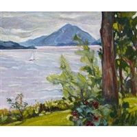 lake memphremagog by nora frances elisabeth collyer