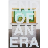 end of an era (b) poster by damien hirst