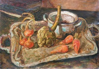 nature morte aux légumes by serguei ossipovitch karski