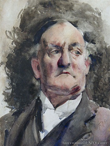 portrait of a judge by frances mary hodgkins