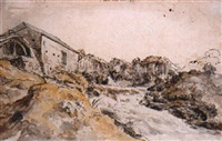 a mill near bantry by william ashford