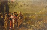 noah entering the ark by s. daens