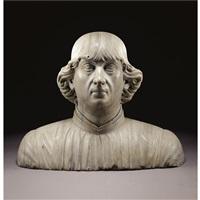 bust of a man by francesco da laurana