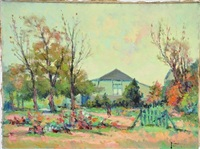 jardin en automne by narcisse henocque
