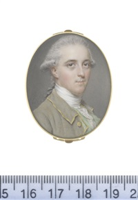 sir george pauncote-bromley (1753-1808) by john smart the elder