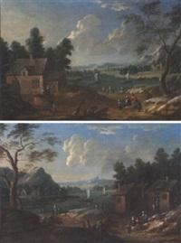 paysage fluvial by mathys balen