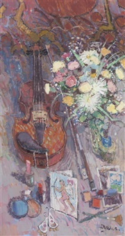 violin and valentine by donald manson