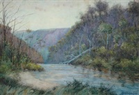 river view by alfred james daplyn