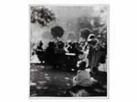 people in the park by josef sudek