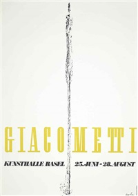 giacometti, kunsthalle basel by herbert matter