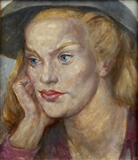 the blonde by charles cameron baillie