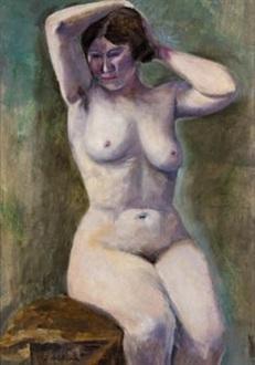 desnudo femenino by servando del pilar