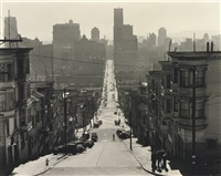 san francisco street scene by brett weston