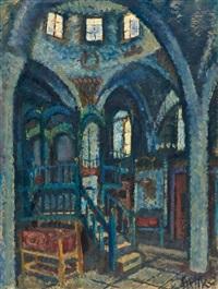 ha'ari synagogue, safed by arieh allweil