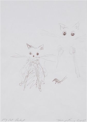 my cat docket by tracey emin