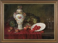 still life with fruits by eduard huber-andorf