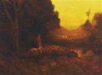 evening by william keith