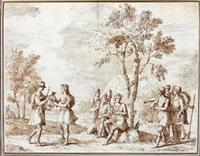 le concours entre apollon et marsyas (+5 others; 6 works) by antonio maria zanetti