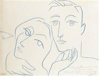 le couple d'amoureux by françoise gilot
