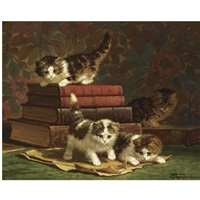 little scholars by cornelis raaphorst