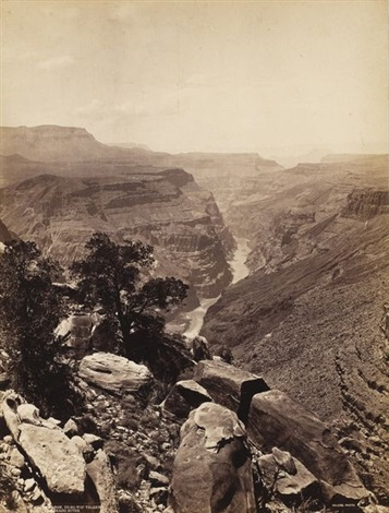 the grand canon to ro wip valley colorado river usa by john k hillers