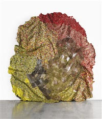 they saw us through puffs of smoke by el anatsui
