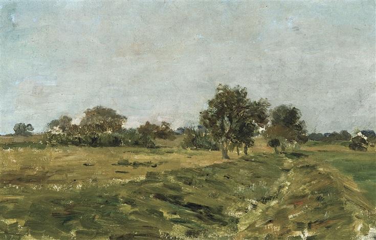 paysage le fossé by félicien joseph victor rops