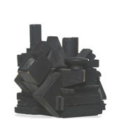 cryptic, xxx by louise nevelson