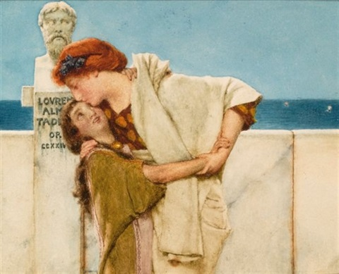 motherly love by sir lawrence alma tadema