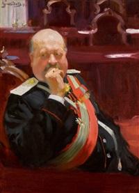 Portrait of Count Alexei Pavlovich Ignatiev, 1902