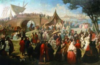 scène de carnaval à venise by antonio boldini