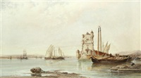'The mouth of the Tagus, Lisbon'