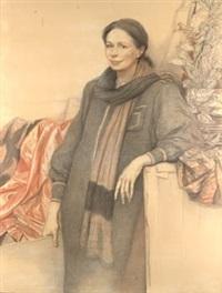 retrato de dama by manuel alcorlo