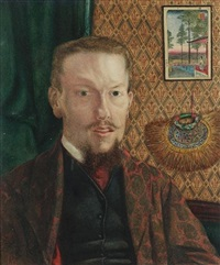 a portrait of a china-trade merchant by james b. coughtrie