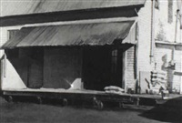 feed shed, prince edward island by john b. webster