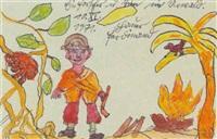 ein forscher im urwald by ferdinand hauer