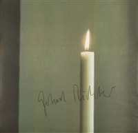 kerze i (candle i) by gerhard richter