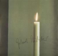 kerze i (candle i) by gerhard richter