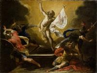 resurrezione di cristo (resurrection of christ) by valerio castello