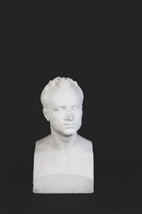 bust of francis sylvester mahony(fr. prout) by john hogan