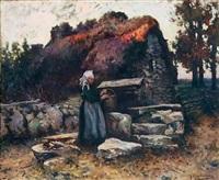la puisatière bretonne by michel korochansky