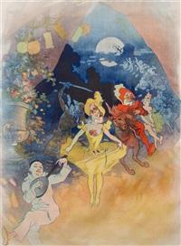 musée grévin: théatre les fantoches by jules chéret