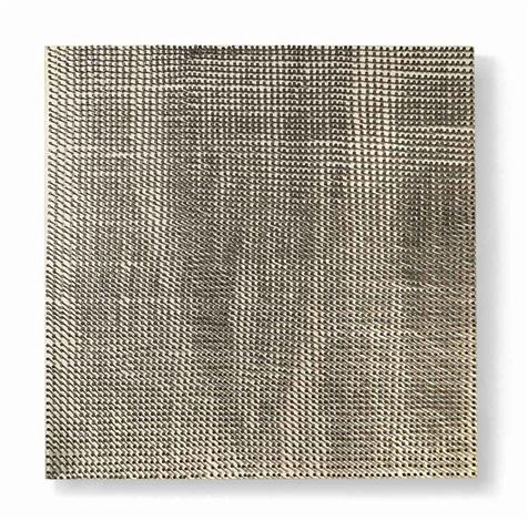 reihe feld (sequence field) by günther uecker